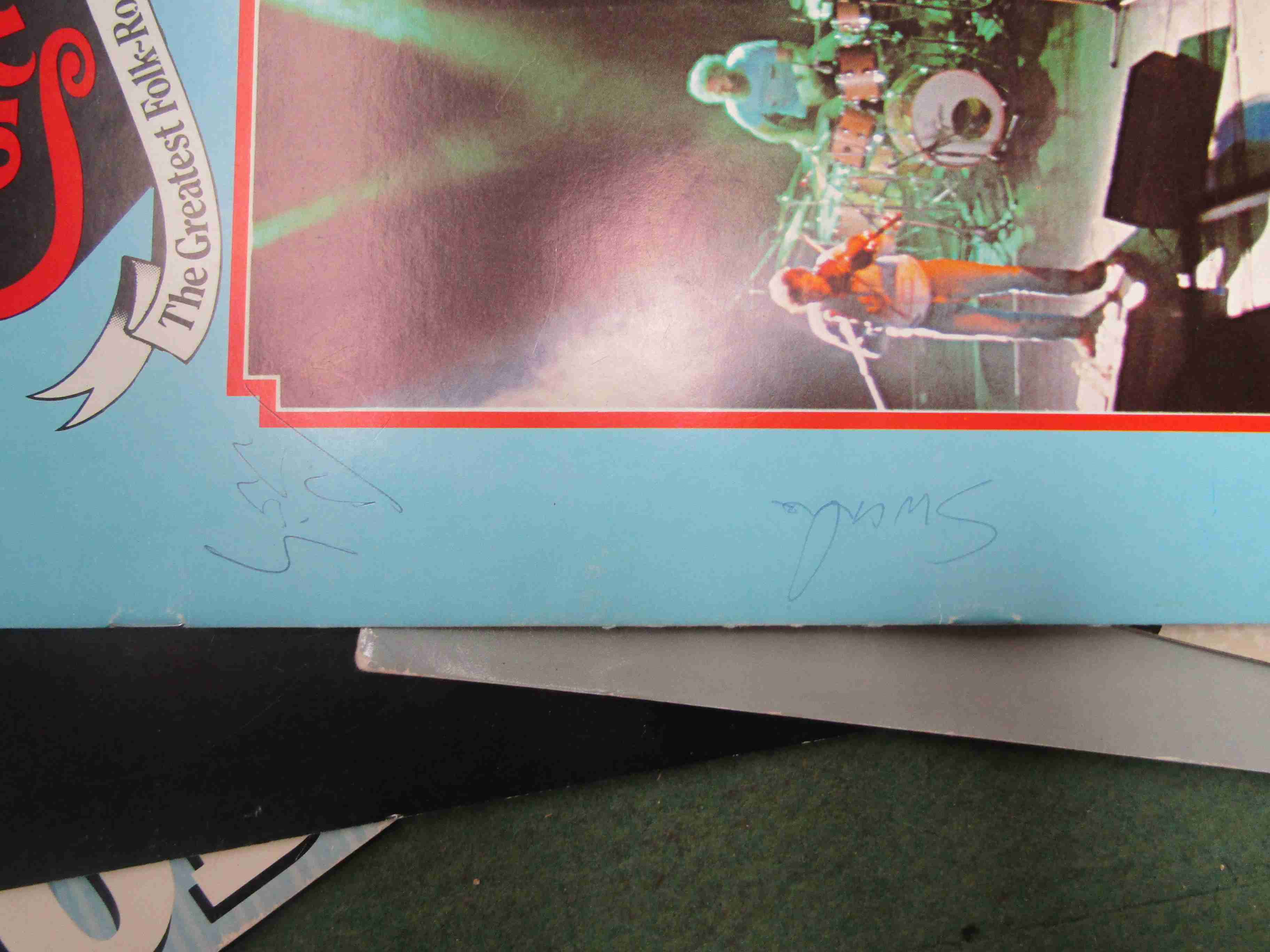 Eleven 1980's tour programmes including Bob Dylan, Fairport Convention (bearing signatures), - Image 2 of 2