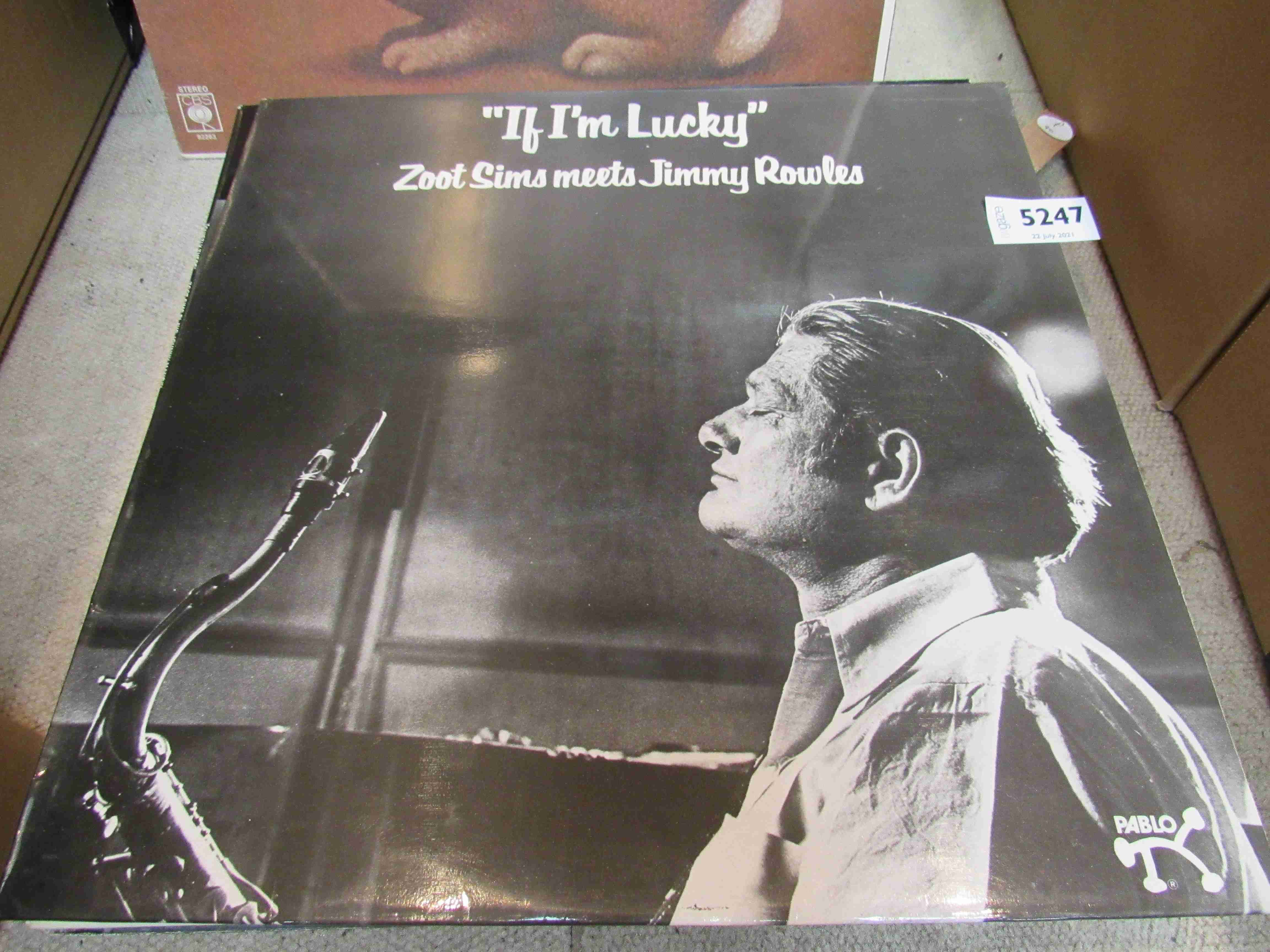 ZOOT SIMS: Nine LP's to include 'If I'm Lucky', 'Quietly There (Zoot Sims Plays Johnny Mandel)',