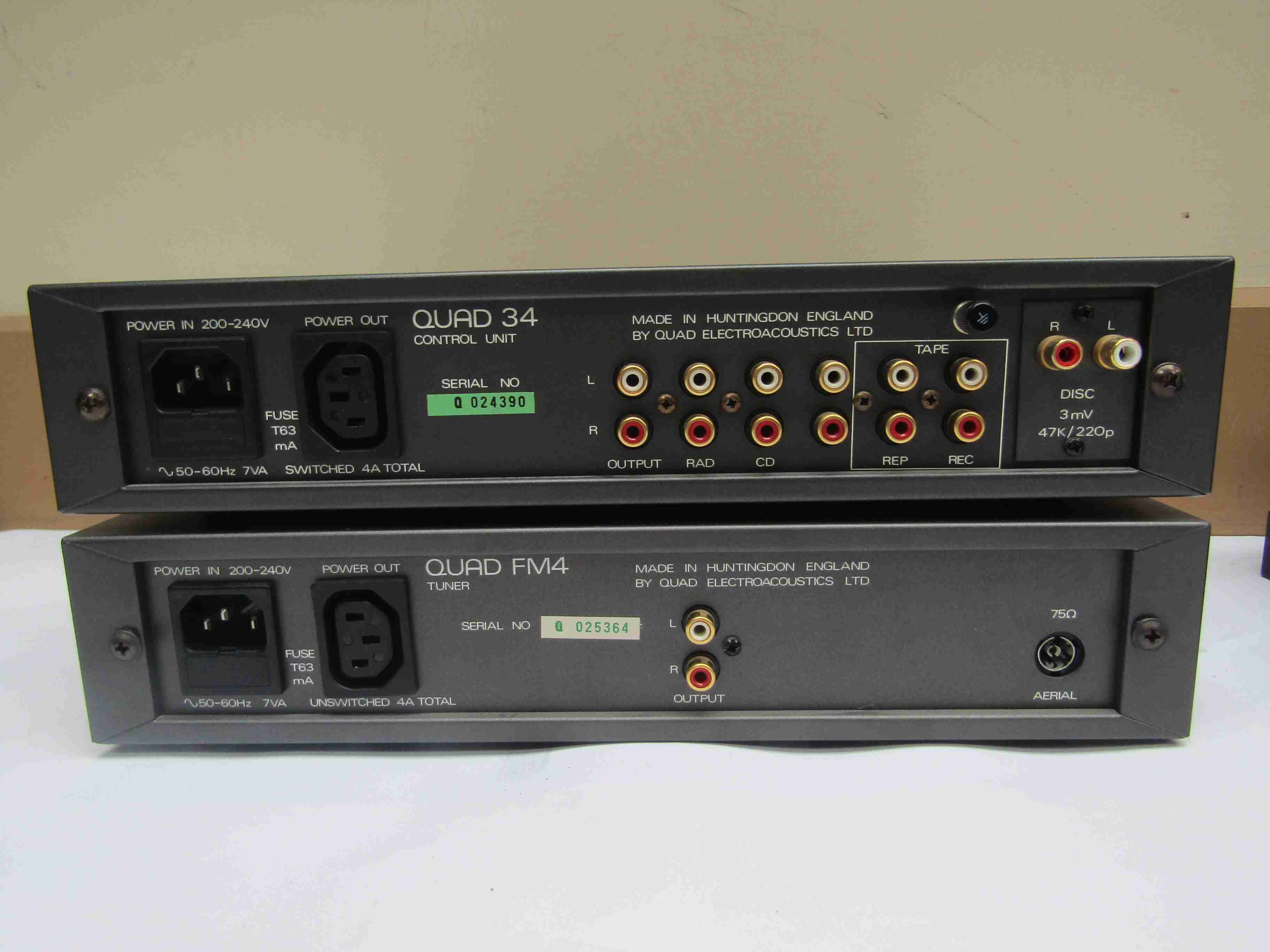 A Quad 606 power amplifier, - Image 2 of 3