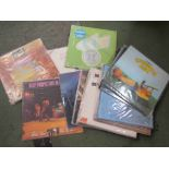 Twenty one assorted LPs by 1960's and 70's artists including Led Zeppelin, Deep Purple,