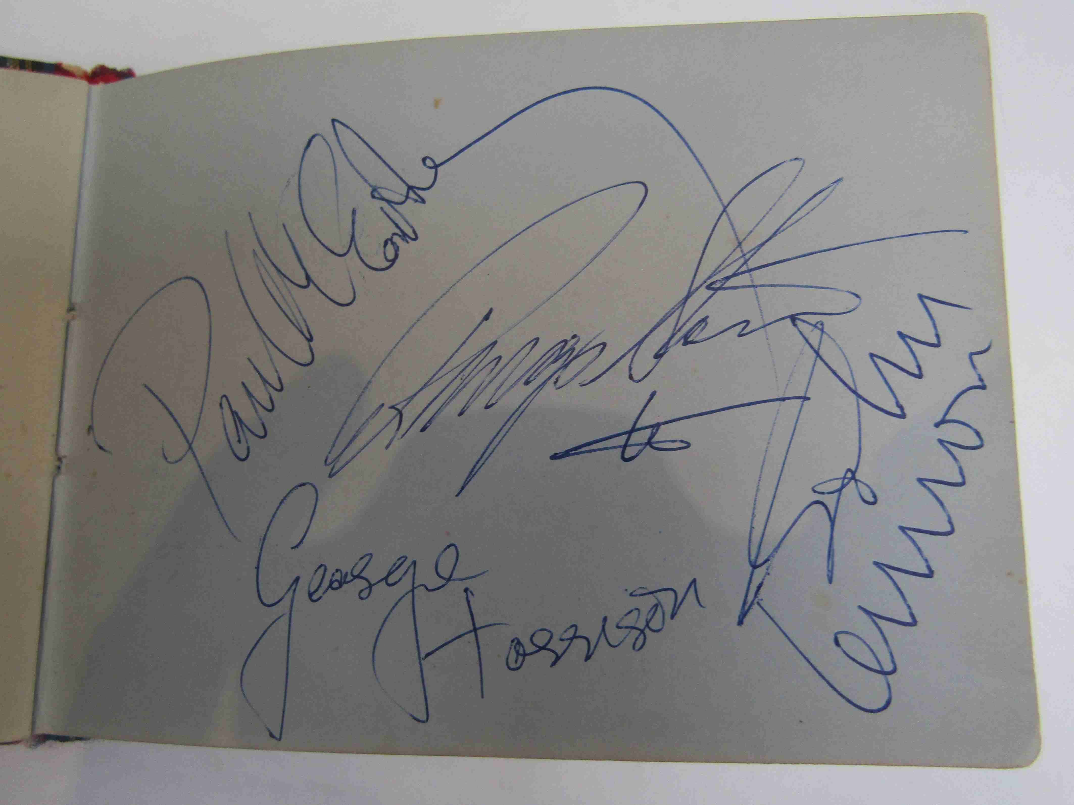 Two 1950s/60s autograph books containing autographs by Benny Hill, Honor Blackman, Barbara Shelley, - Image 2 of 34