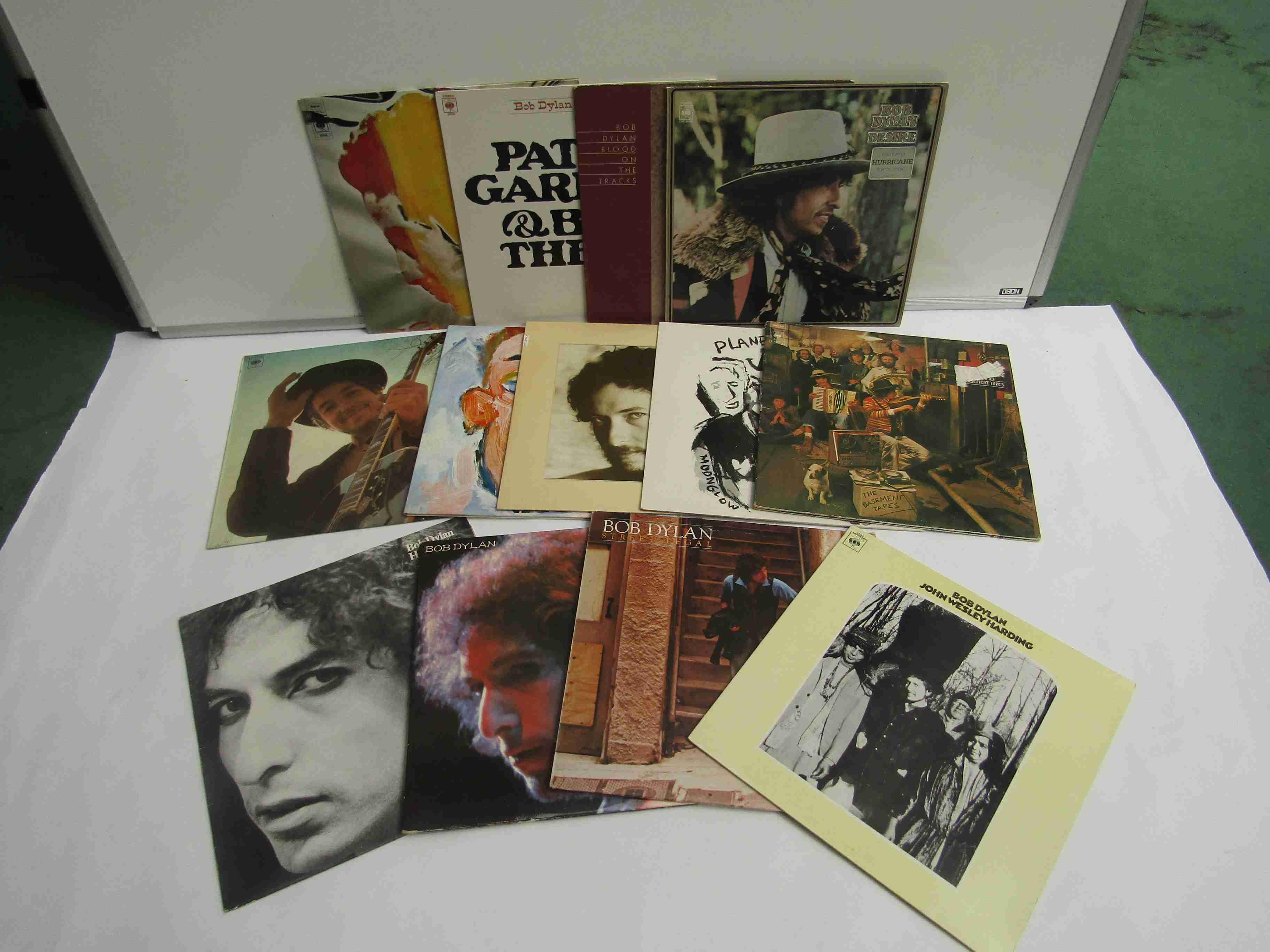 BOB DYLAN: Thirteen LP's to include 'John Wesley Harding', 'Nashville Skyline', 'Self Portrait',