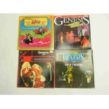 GENESIS: Four LP's to include 'The Lamb Lies Down On Broadway', 'Rock Theatre',