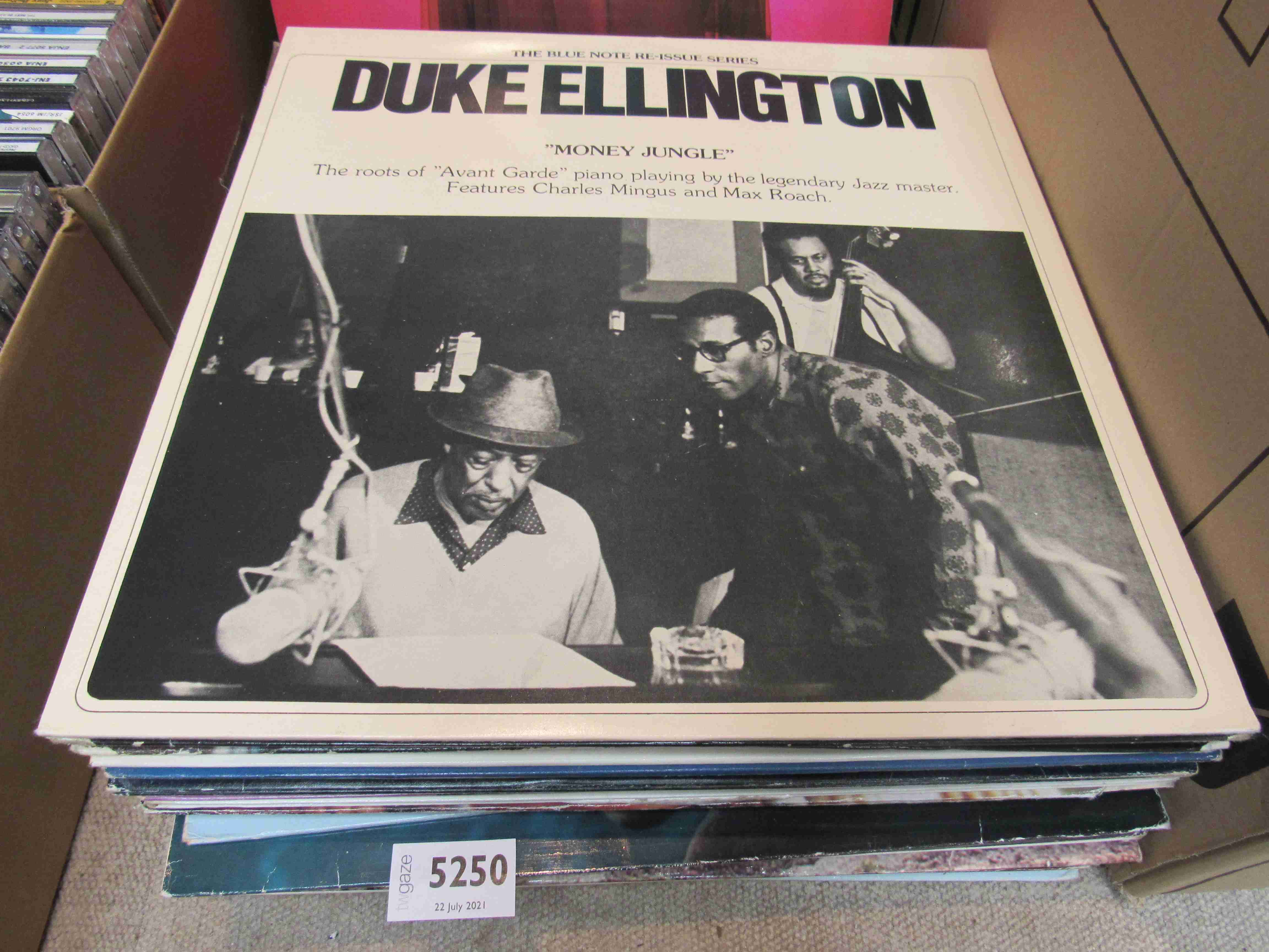 Thirty seven assorted piano Jazz LP's including Mick Pyne, Duke Ellington, Ralph Sutton,