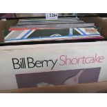 A large box of mostly Swing and Big Band Jazz including Bill Berry, Count Basie, Glen Miller,