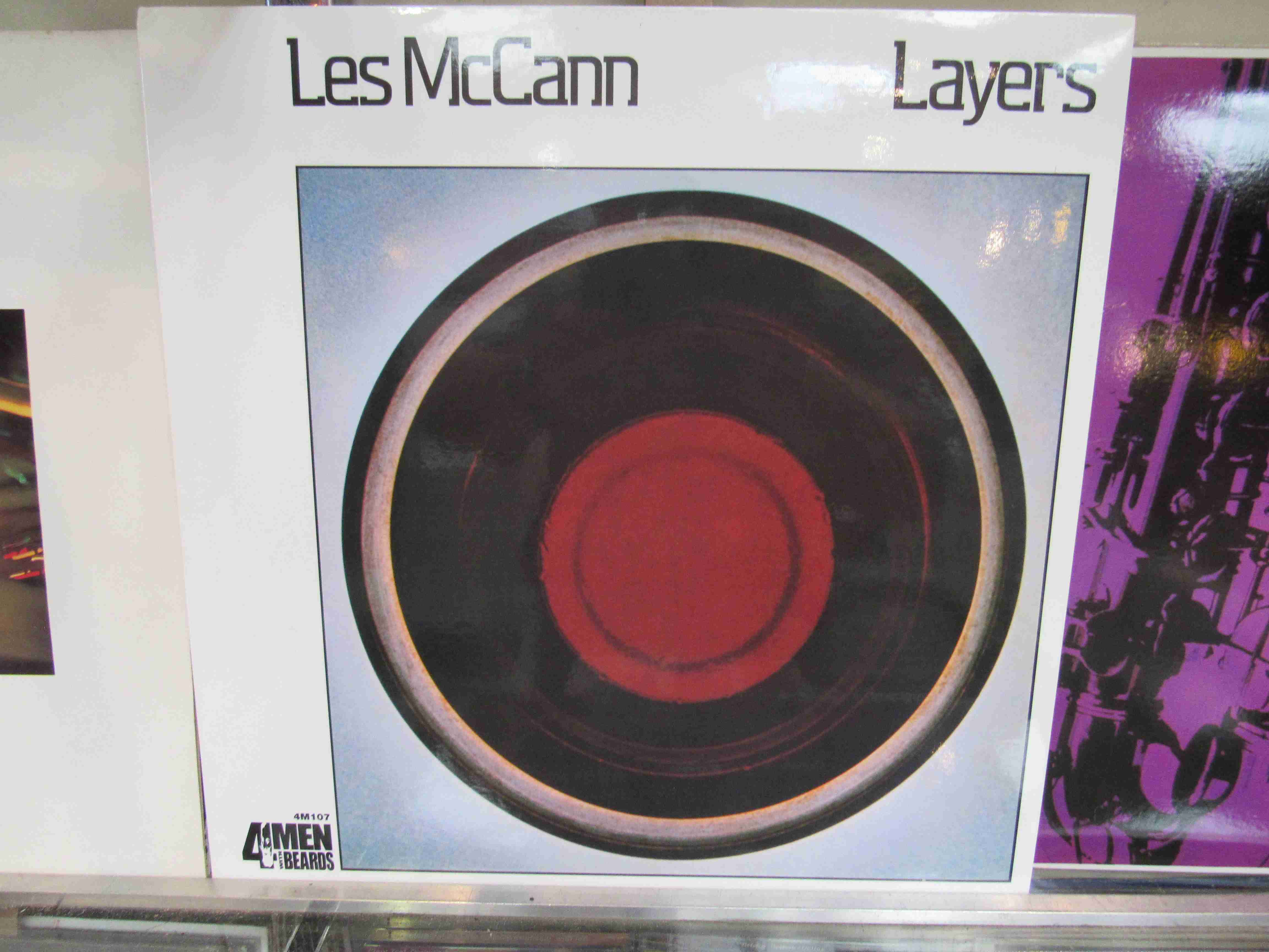 LES McCANN: Five LP's to include 'Much Les' SD1516, 'Layers' reissue 4M107,