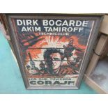ELADIO RIVADULLA: A framed and glazed screen printed film poster 'Los Que Tuvieron Coraje' starring