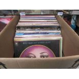 A collection of LP's by Jazz vocalists including Della Reese, Sarah Vaughan, Janis Siegel,