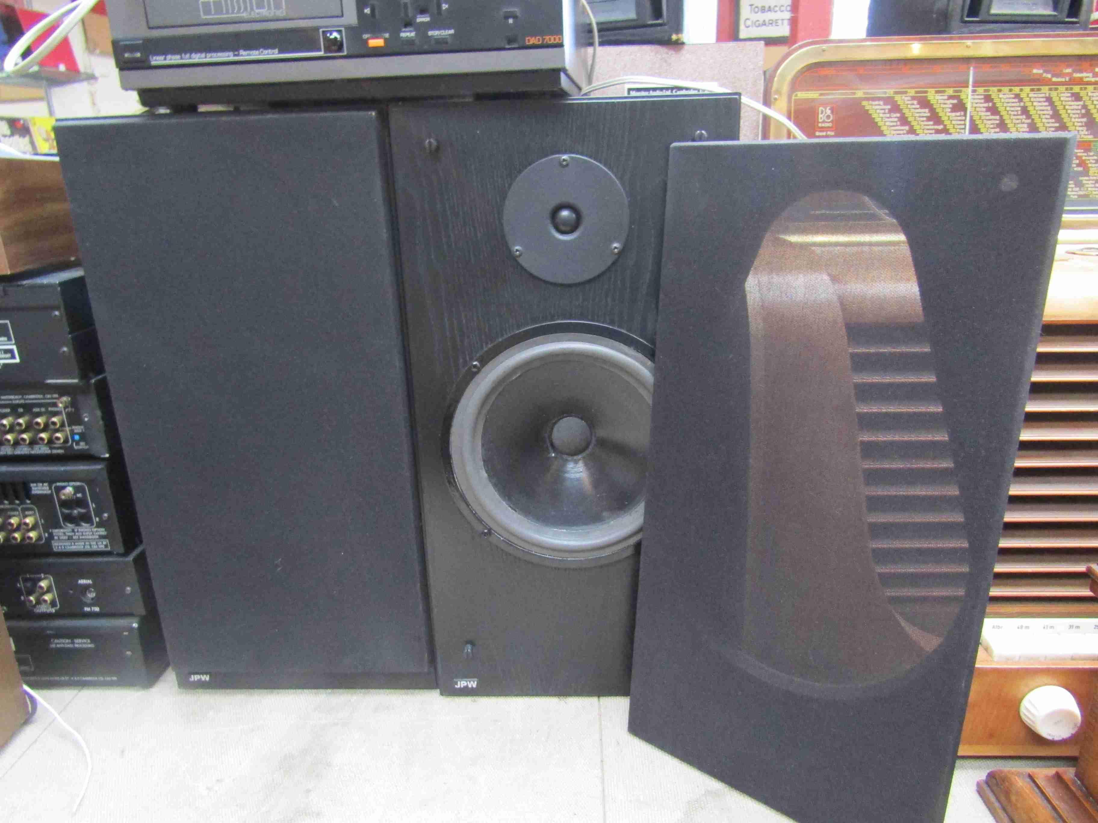 A pair of JPW AP3 speakers