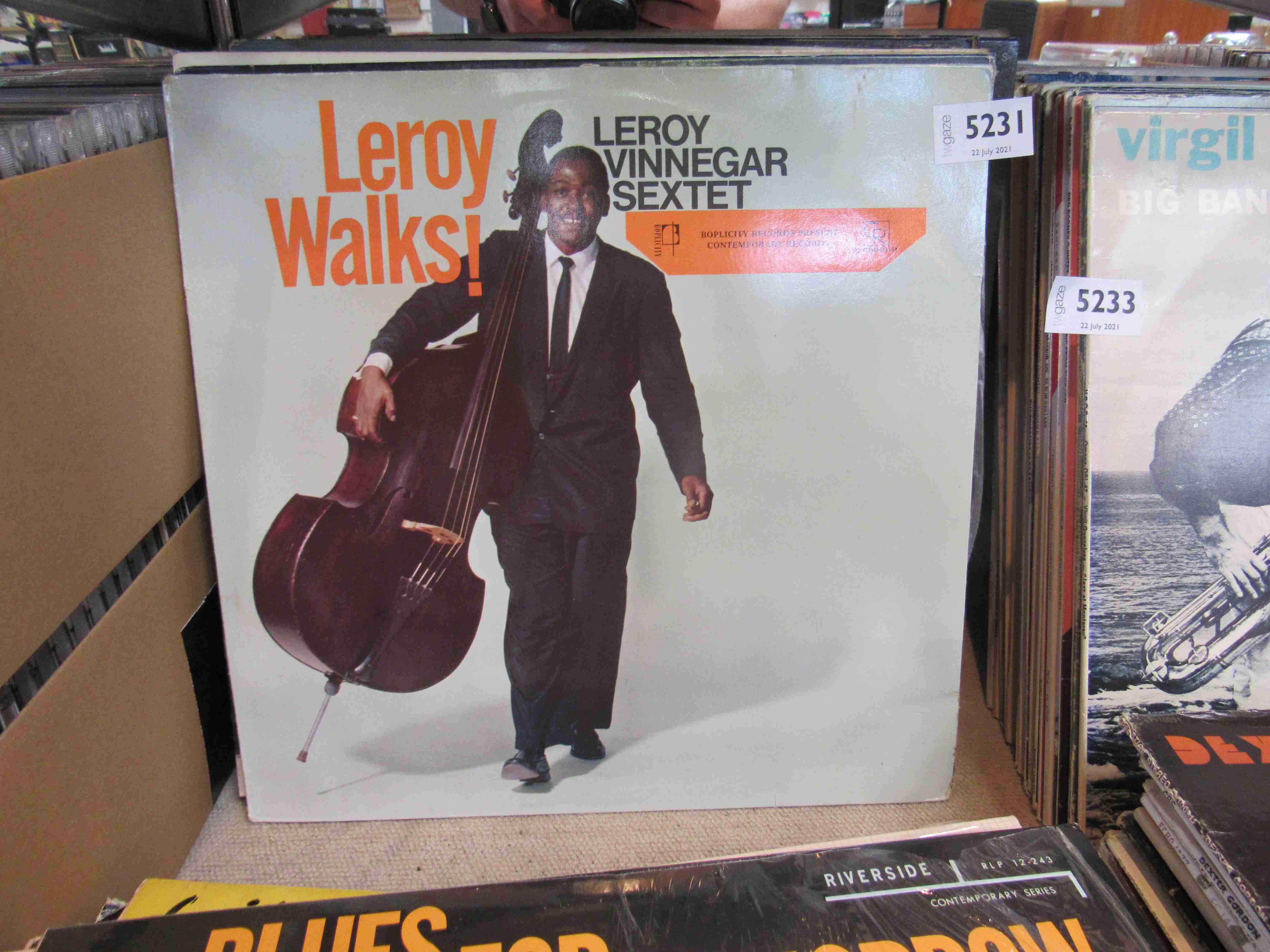 Twenty five assorted Jazz LP's including Milt Jackson, Marlowe Morris Quintet,