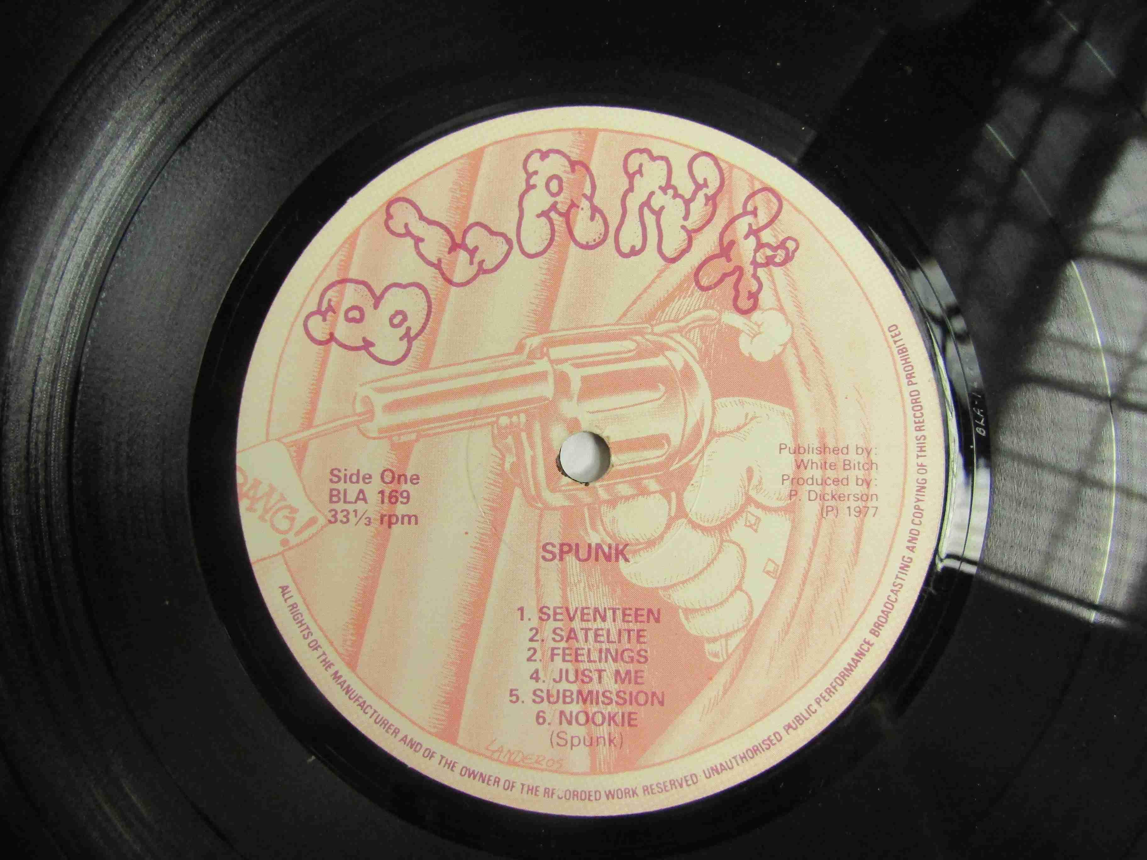 SEX PISTOLS: 'Spunk' LP, unnofficial, original 1977 pressing, - Image 2 of 2