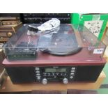 A Teac LPR500 turntable with CD recording,