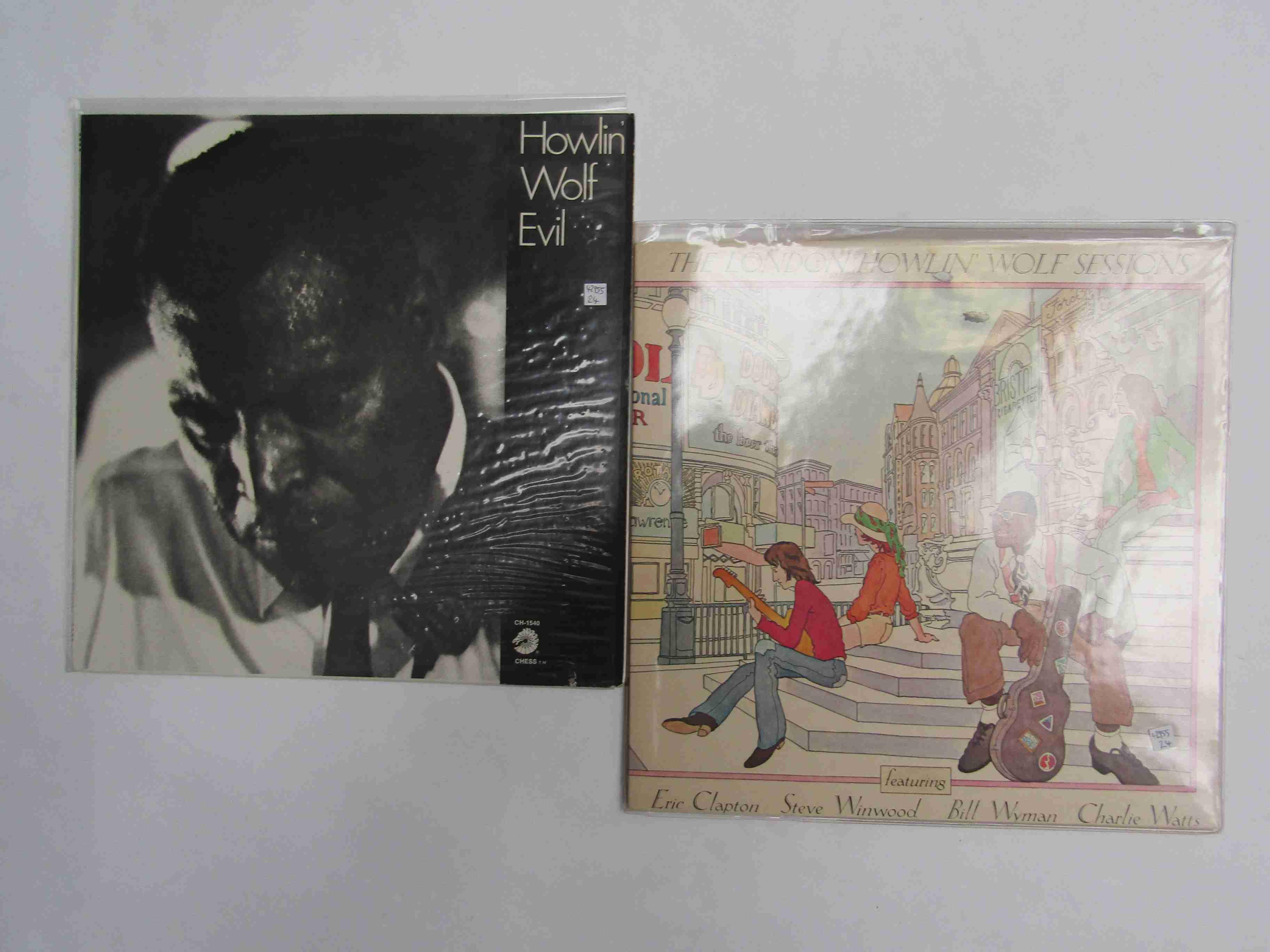 HOWLIN' WOLF: 'Evil' LP, chess Vintage Series CH-1540 (media EX,
