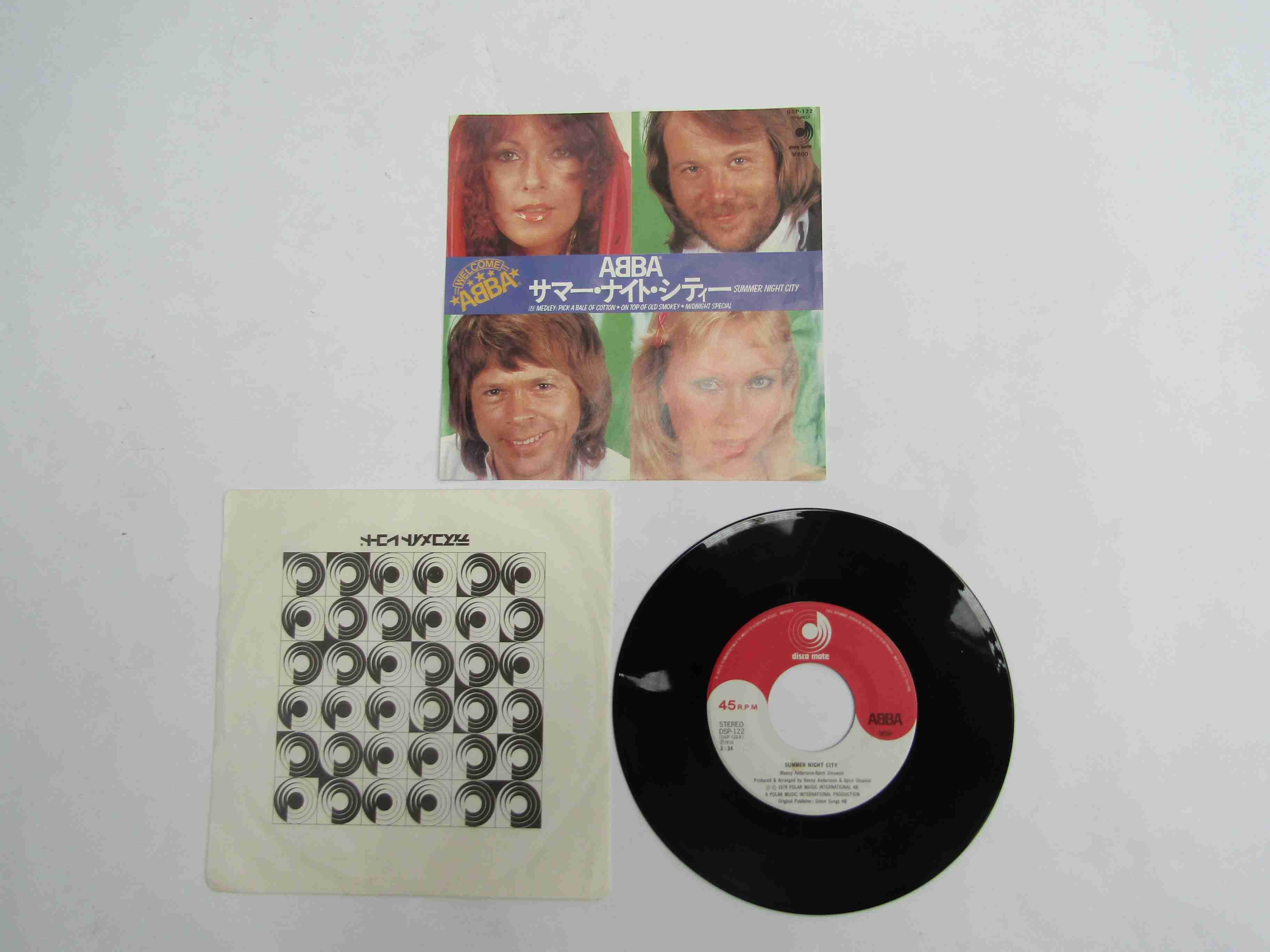 "ABBA: 'Summer Night City' 7"" single,"