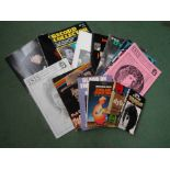 Fourteen assorted Bob Dylan related books and magazines including Oh No! Not Another Bob Dylan Book,