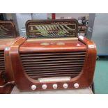 A 1950's wooden cased Bang & Olufsen Grand Prix 506 K radio
