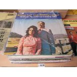 Thirty assorted Country and Bluegrass LP's on the Starday,