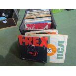 "A case of mixed 7"" singles including Metallica, David Bowie, Stevie Wonder, Pet Shop Boys,"