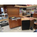 A Murphy A 900 SR ' Stereo Cube' radiogram with one speaker