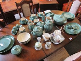 A selection of Green Denby tea and dinner wares and assorted china a/f