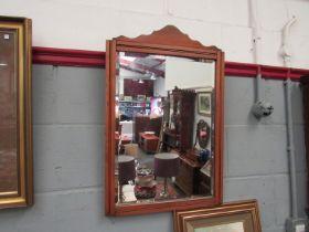A beech framed,