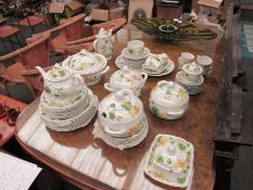 A Villeroy & Boch Malva pattern part tea service