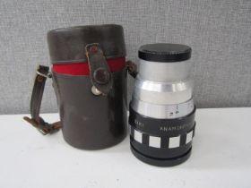 An Eiki Anamorphic 16C lens,