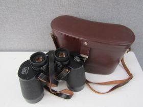 A pair of Carl Zeiss Jena multi-coated Nobilem 12x50B special binoculars,