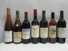 12 Various bottles red, white and sparkling wines including 1985 Duc de Berticot x 2,