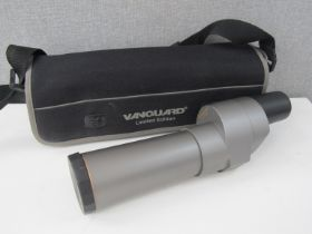 A Vanguard limited edition spotting scope with soft case