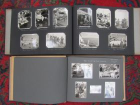 Two albums of 1930's/40's photographs including Australia, New Zealand,