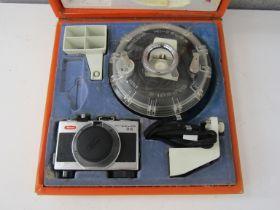 A Ricoh Hi-Color 35 camera,