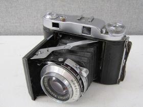 A Balda Super Baldax 120 film camera with Schneider Radionar 1:2.