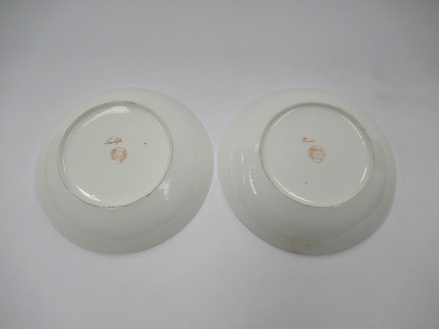 A pair of Bloor Derby saucers, - Image 5 of 6