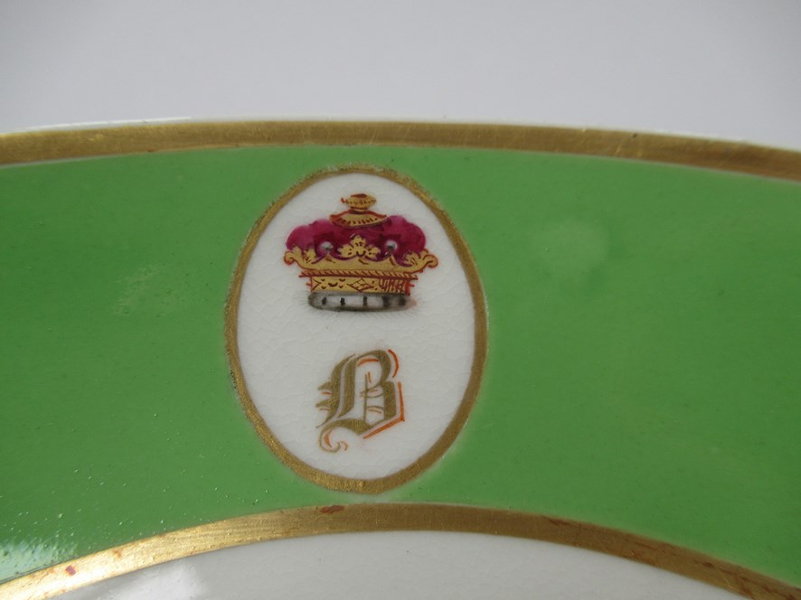 A pair of Bloor Derby saucers, - Image 4 of 6