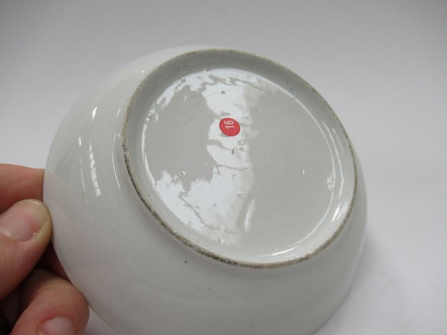 A Newhall polychrome tea bowl and saucer - Image 4 of 4