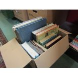 A quantity of bird books and collectible volumes