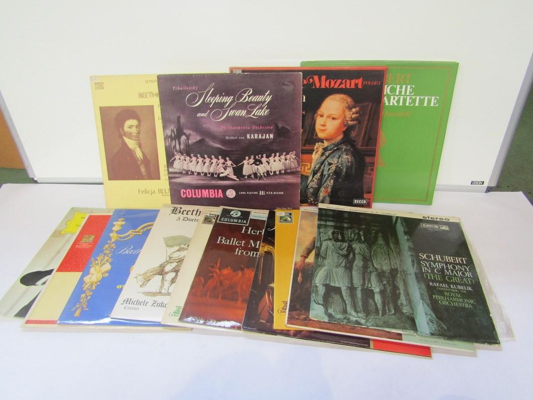 Assorted Classical LP's on the HMV, EMI, Decca, Erato, Orion,