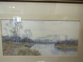 ROBERT WINCHESTER FRASER (1848-1906): A watercolour of Claremont, Surrey,