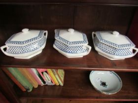 """Three Adams """"Brentwood"""" design vegetable dishes"""
