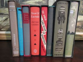 """Eight Folio Society volumes including Father Brown Stories """"The Warden"""""""