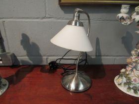 An Industrial metal work lamp