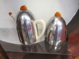 A retro Kosy Kraft four piece tea and coffee set,