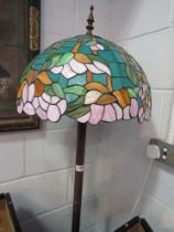 A Tiffany style standard lamp, approx.