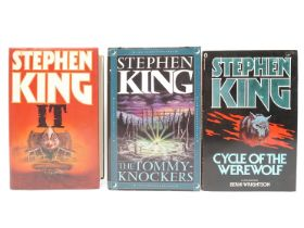 Stephen King, 3 titles: 'Cycle of the Werewolf', New English Library, 1985, 1st UK edition,