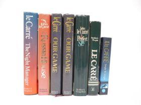 John le Carre, 7 titles: 'A Perfect Spy', London, Hodder & Stoughton, 1986, 1st edition,