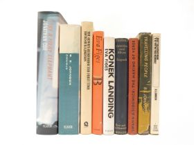 A collection of nine titles by and relating to the English experimental novelist and poet B.S.