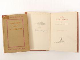 George Bernard Shaw: 'Saint Joan A Chronicle and The Apple Cart A Political Extravaganza', London,
