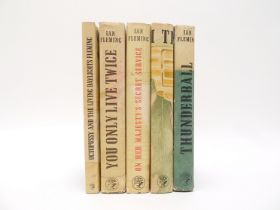 Ian Fleming, five James Bond first editions, all published London, Jonathan Cape,