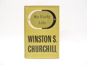 Winston Spencer Churchill: 'My Early Life, A Roving Commission', Odhams Press postwar reprint,